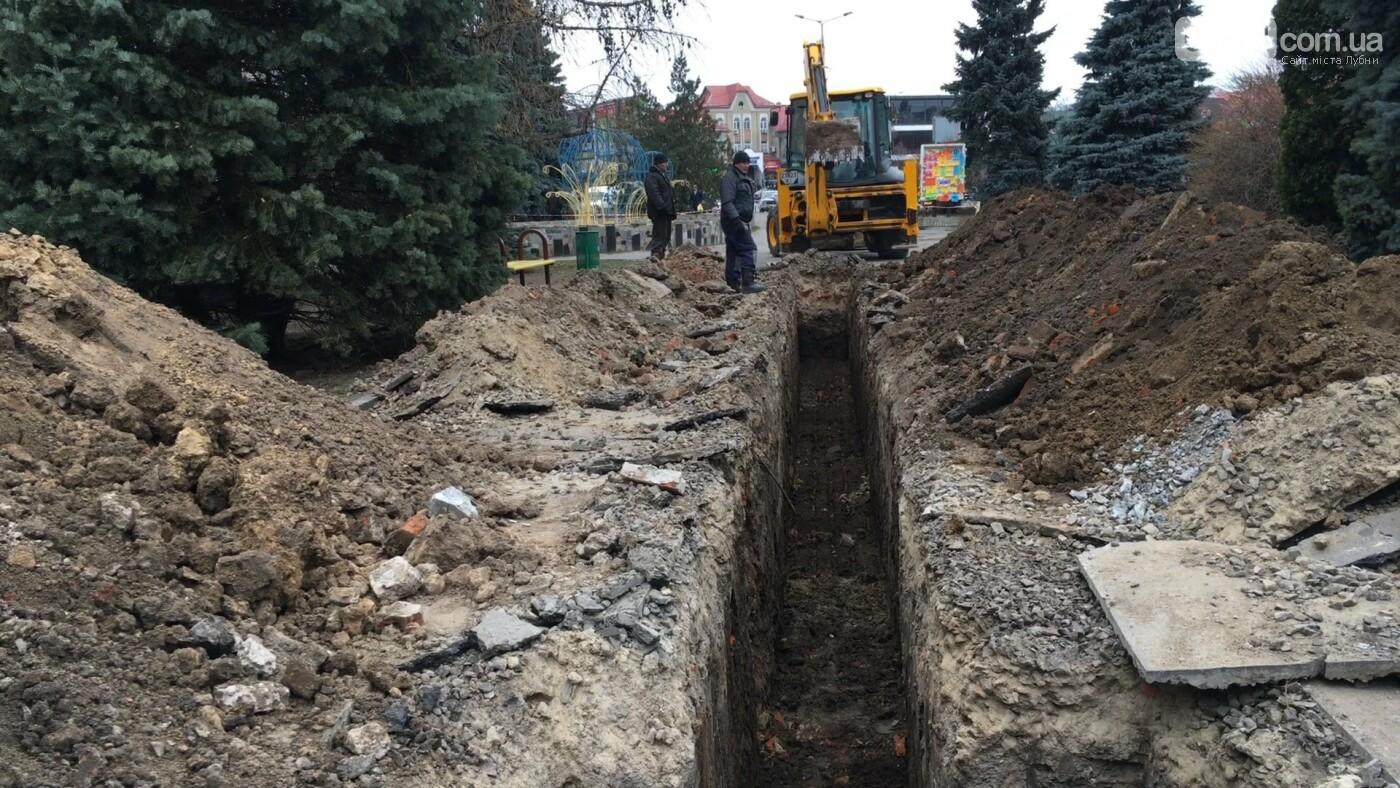 Реконструкція Ярмаркової площі: чи дочекаються лубенці нової дощової каналізації, фото-4