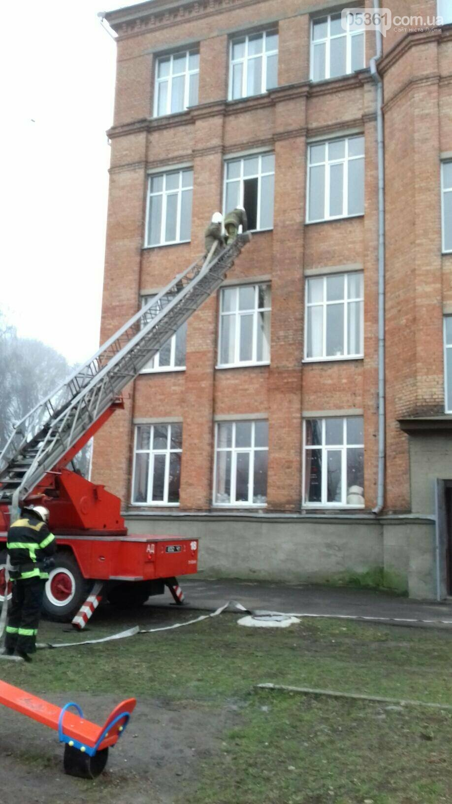 Профілактичні навчання з протипожежної безпеки в навчальних закладах Лубен та району, фото-3