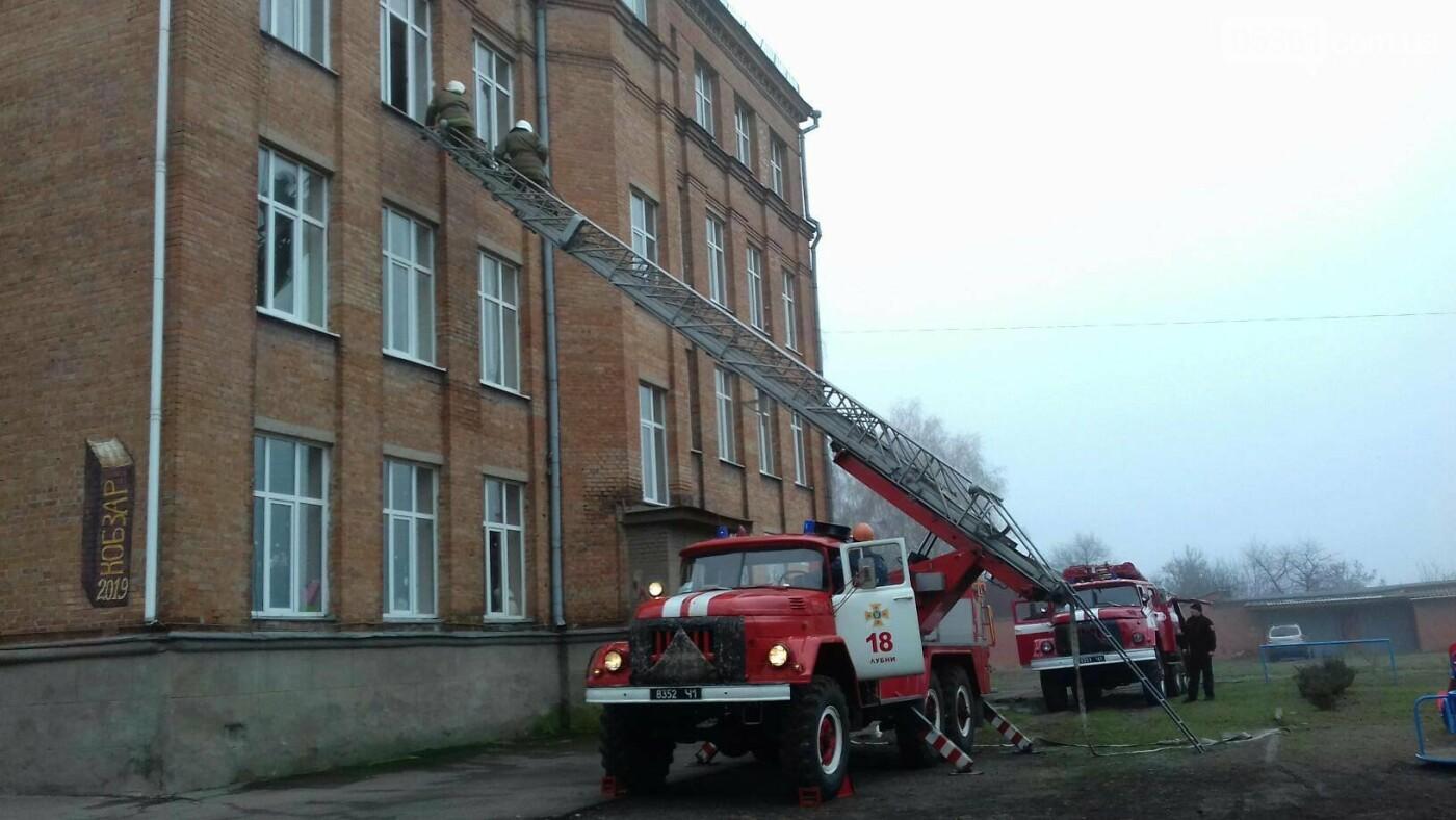 Профілактичні навчання з протипожежної безпеки в навчальних закладах Лубен та району, фото-5
