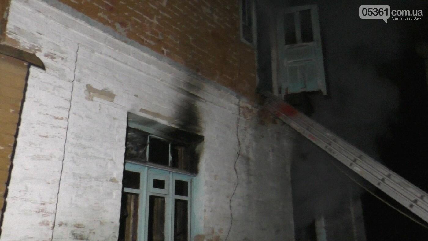 У Лубнах внаслідок пожежі в будинку жінка потрапила до реанімації, фото-2