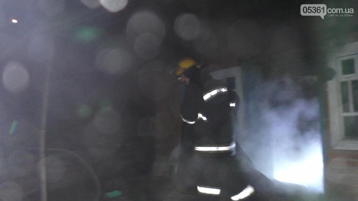 У Лубнах внаслідок пожежі в будинку жінка потрапила до реанімації, фото-3