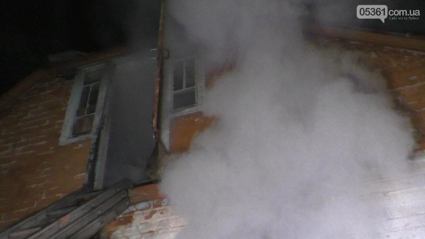 У Лубнах внаслідок пожежі в будинку жінка потрапила до реанімації, фото-4