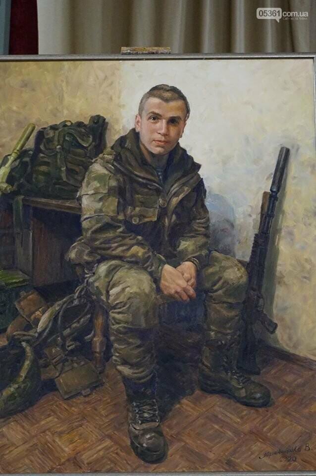 Лубенський художник Володимир Мірошниченко пише портрети учасників АТО/ООС, фото-1
