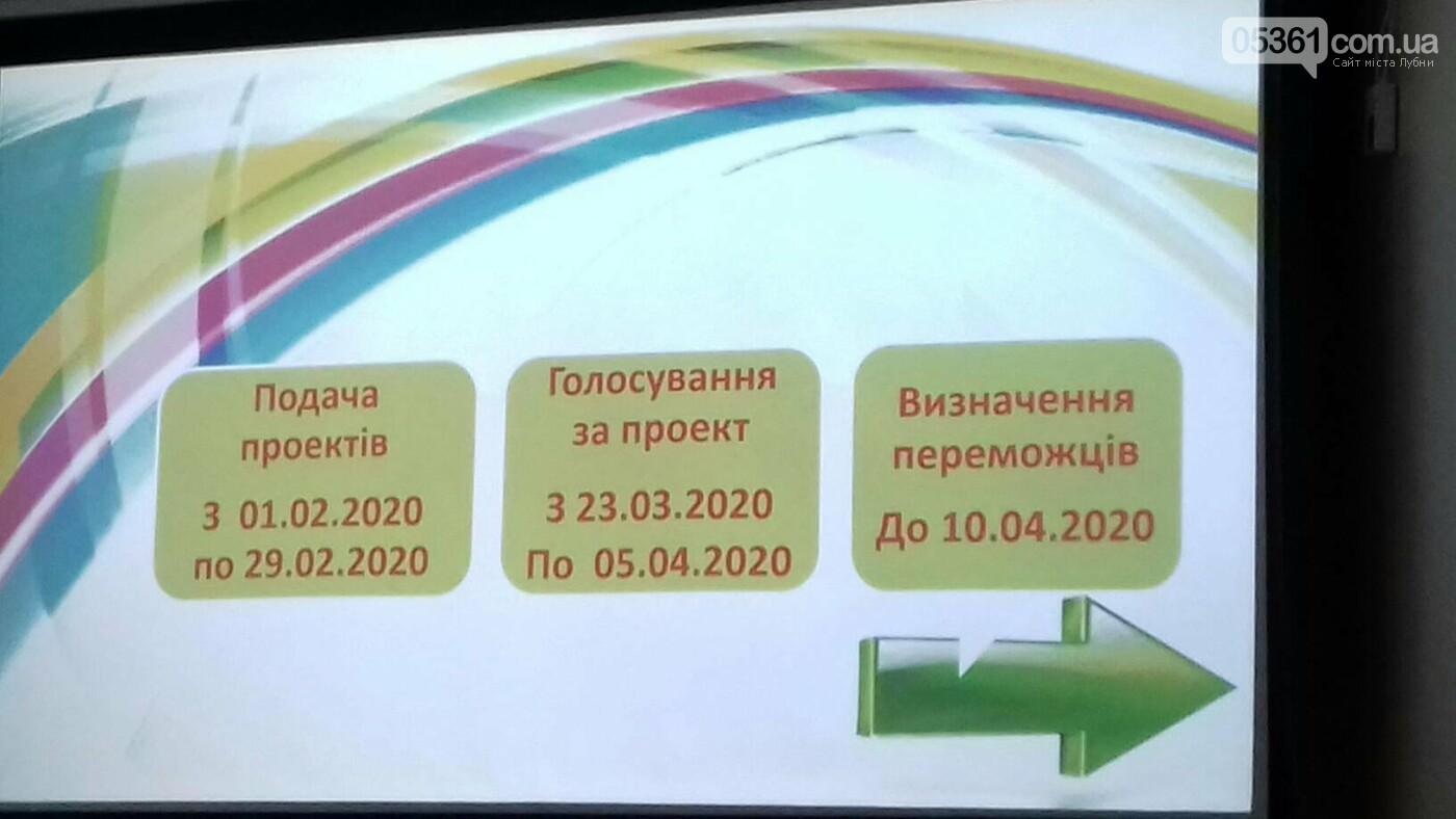 Лубенські ініціативи Громадського бюджету на 2020 рік, фото-3