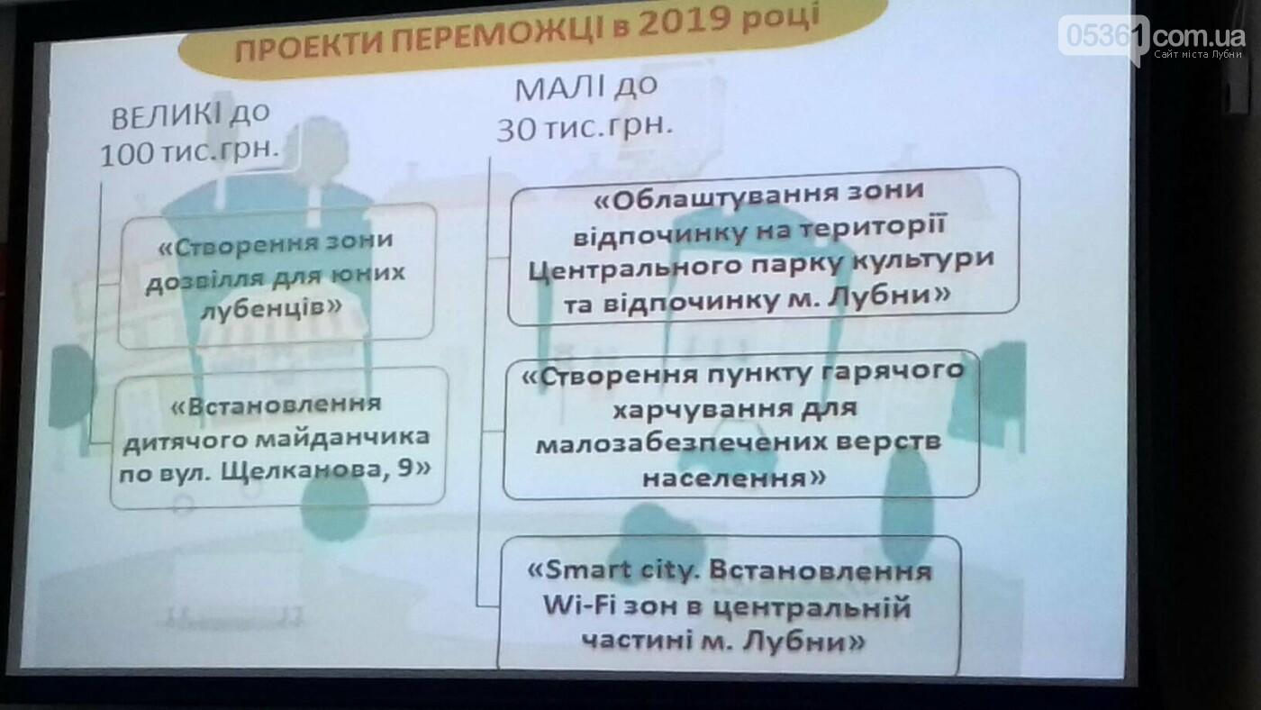 Лубенські ініціативи Громадського бюджету на 2020 рік, фото-2