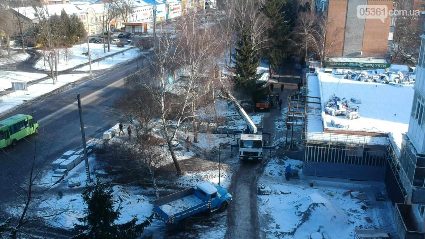 Будівництво нового супермаркету в Лубнах, фото-7