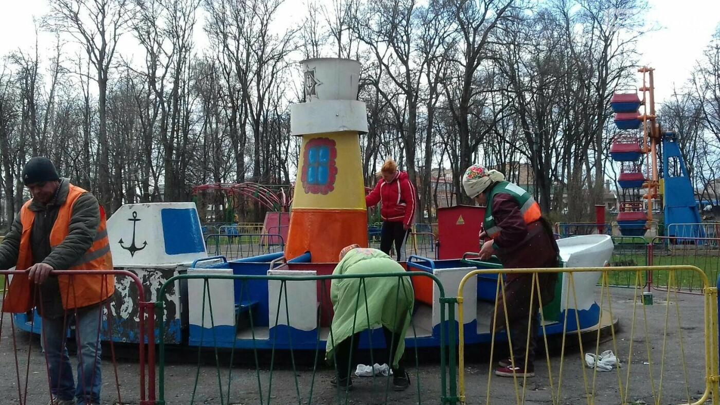 Лубенський парк оживає, фото-3