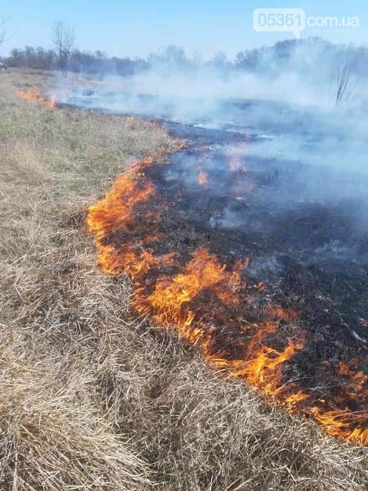 Вогняний шторм на Лубенщині, фото-1