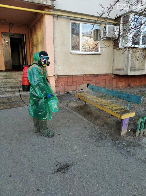 Комунальники Лубен проводять дезінфекцію, фото-1