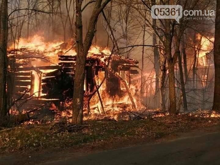 Чорнобиль горить: пожежники з Лубенщини борються з вогнем, фото-2