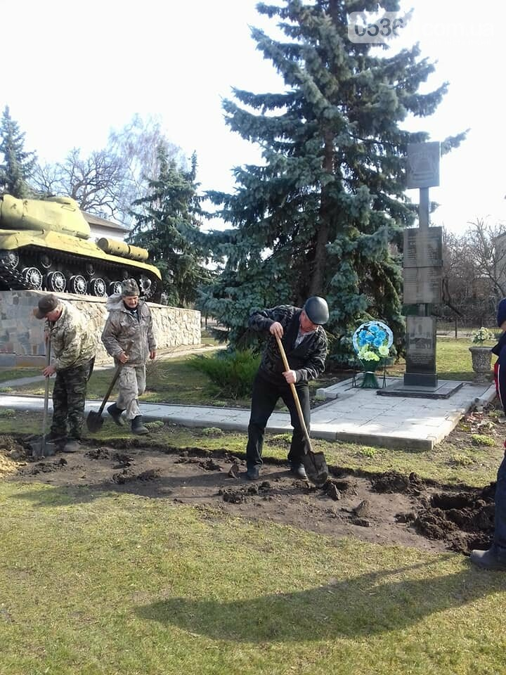 На честь чорнобильців на Лубенщині заклали трояндову алею, фото-2