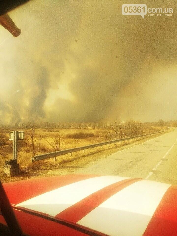 Лубенський пожежник Вадим Сердюк розповідає про ліквідацію пожежі в Чорнобильській зоні, фото-7