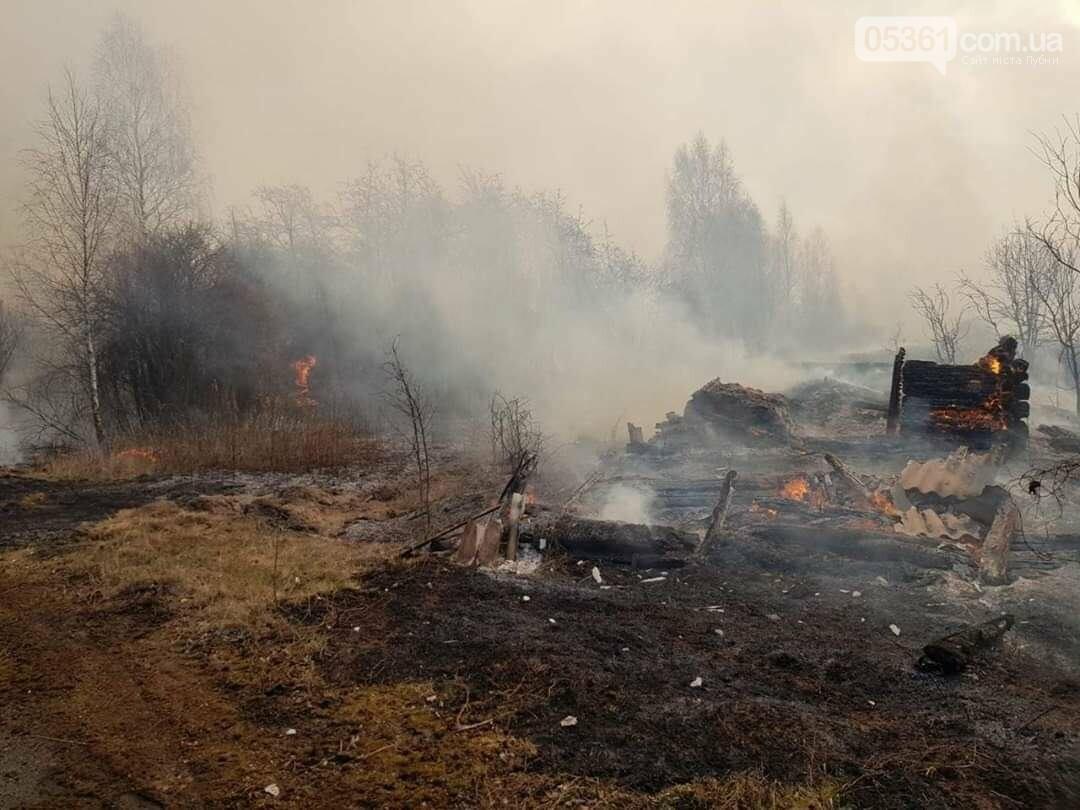 Лубенський пожежник Вадим Сердюк розповідає про ліквідацію пожежі в Чорнобильській зоні, фото-8