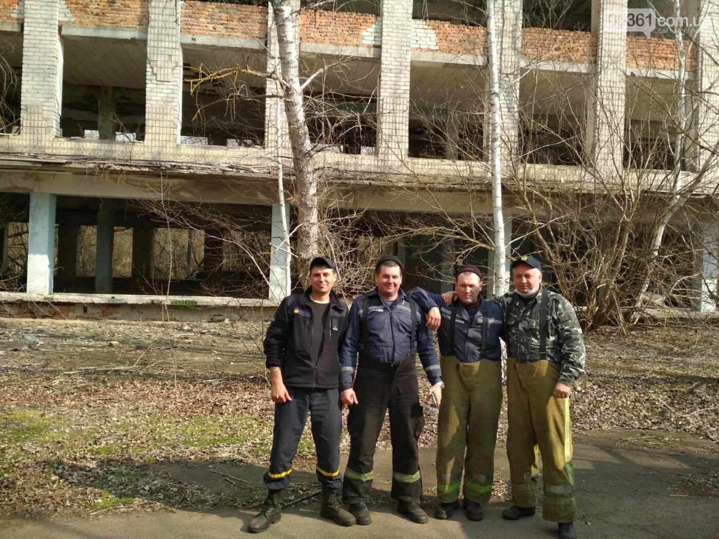 Лубенський пожежник Вадим Сердюк розповідає про ліквідацію пожежі в Чорнобильській зоні, фото-3