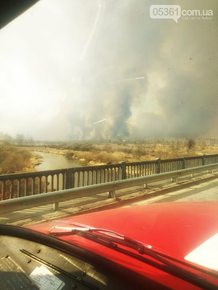 Лубенський пожежник Вадим Сердюк розповідає про ліквідацію пожежі в Чорнобильській зоні, фото-4