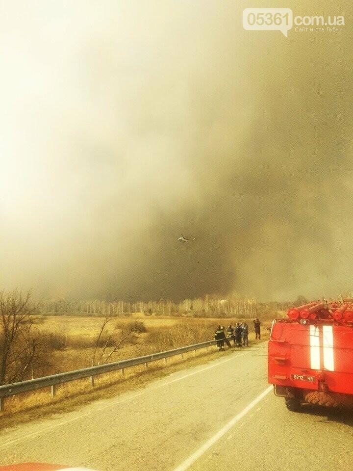Лубенський пожежник Вадим Сердюк розповідає про ліквідацію пожежі в Чорнобильській зоні, фото-12