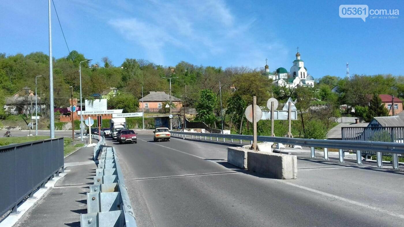 Реверсний рух на лубенському мосту, фото-6