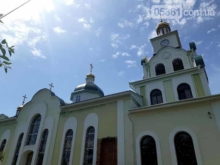 На лубенській церкві встановили п'ятий купол , фото-2