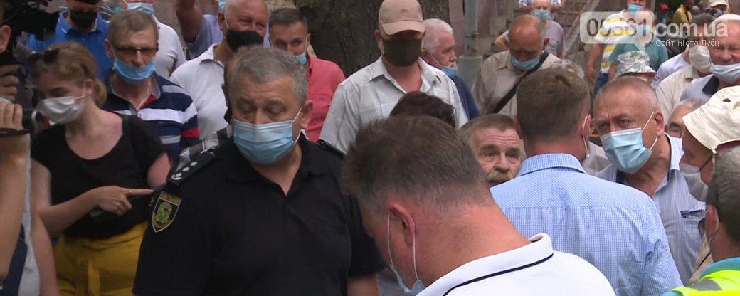 Очільника Лубенської громадської організації «Ветерани Чорнобиля» Віктора Собка ушпиталили та водять на процедури під конвоєм, фото-2