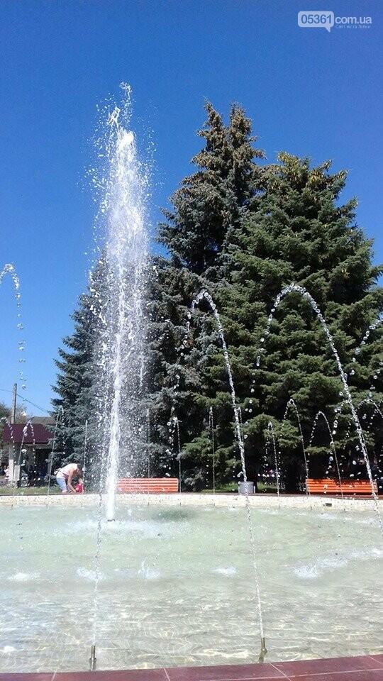 Робота лубенських фонтанів, фото-2