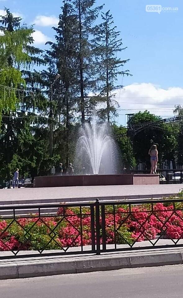 Робота лубенських фонтанів, фото-1