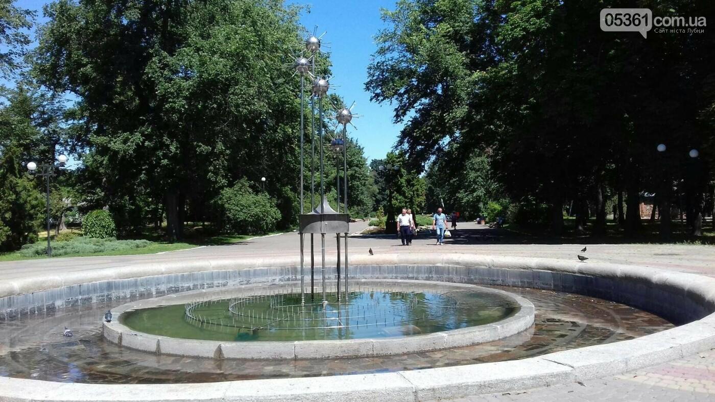 Робота лубенських фонтанів, фото-4