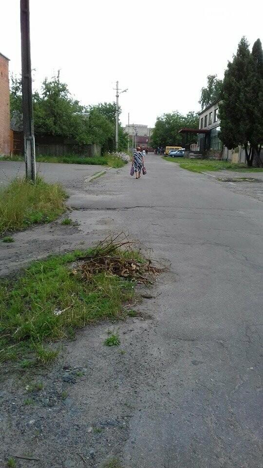 Відкриті каналізаційні люки в Лубнах, фото-2