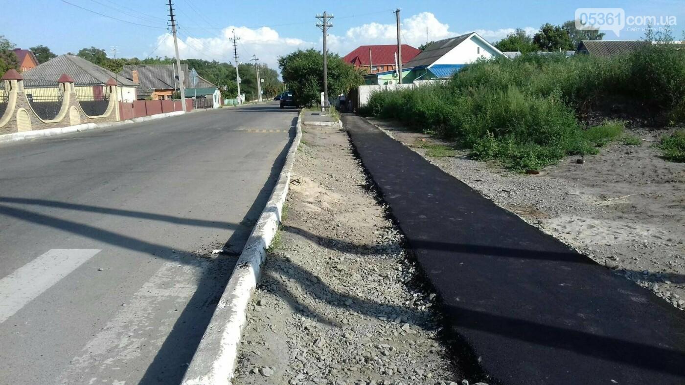 У Лубнах прокладають нову пішохідну доріжку, фото-2