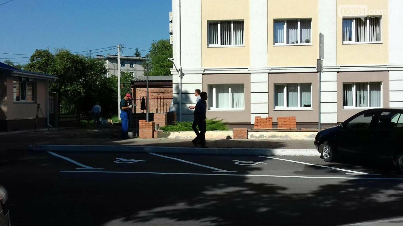 Лубенська міська рада будує мури, фото-3