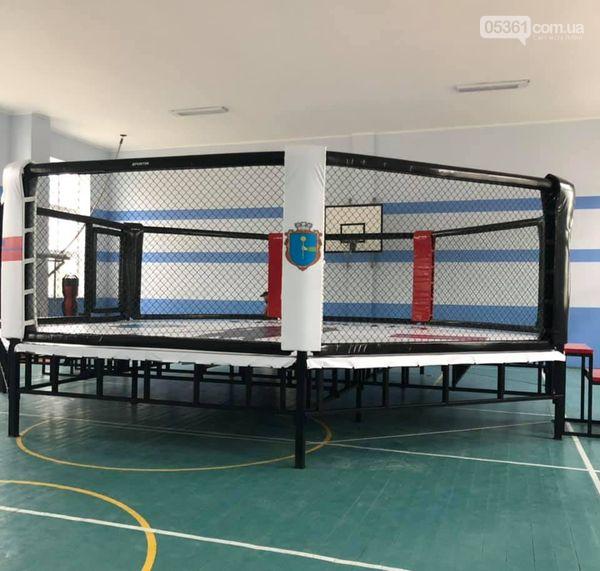 Спортсмени Лубен отримали новий боксерський ринг, фото-2