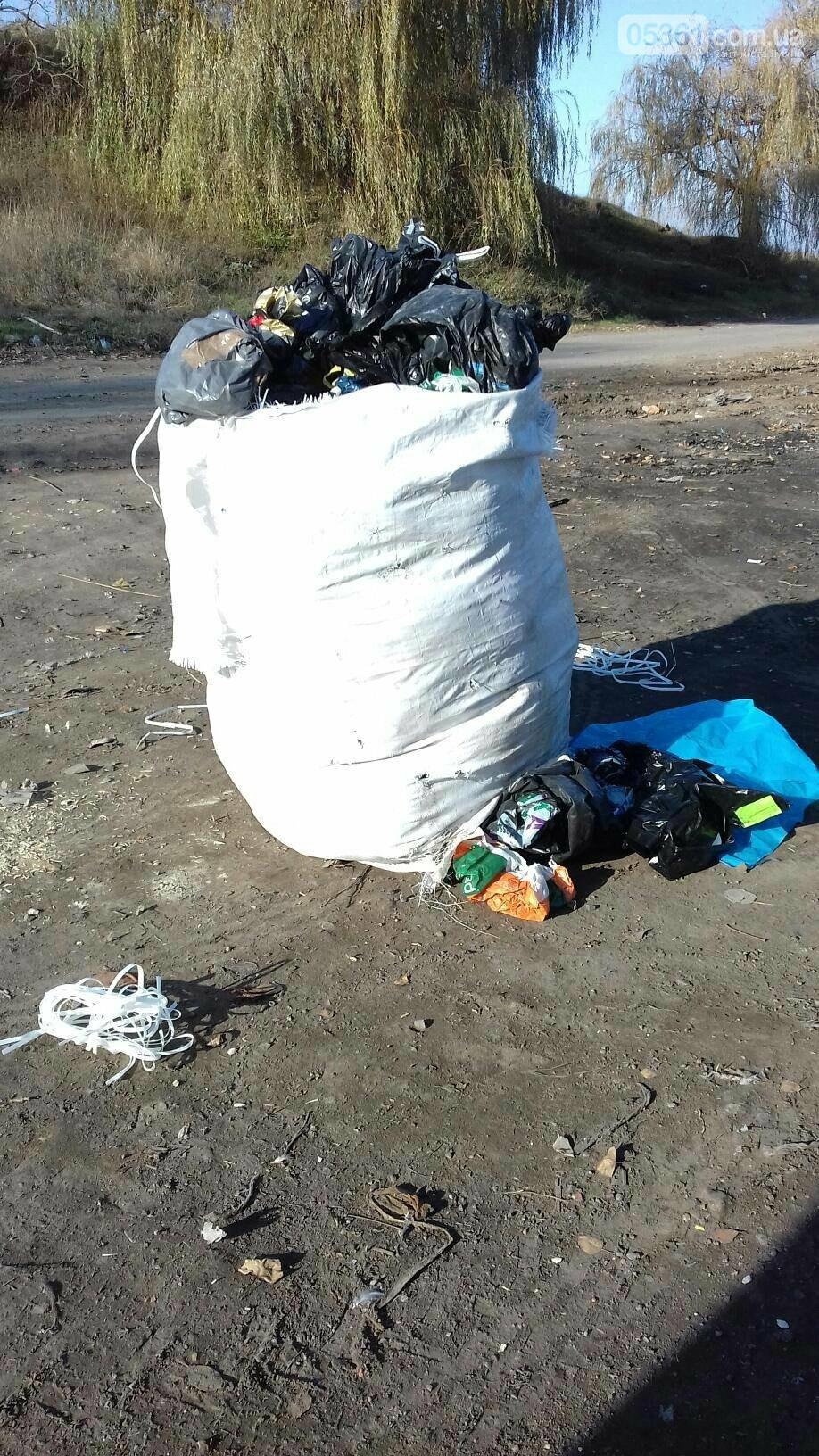 Як сортують сміття на лубенському сміттєзвалищі , фото-4